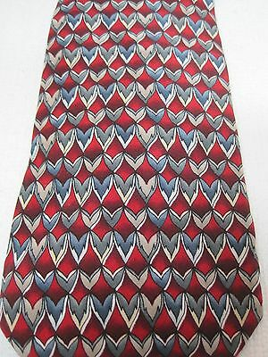 Cocktail Collection Silk Necktie Tie Vodka Tonic Red's Grey's Stonehenge T23