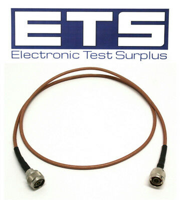 Andrew 4' Type N Male Coax Jumper Cable