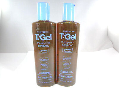Neutrogena T/Gel Therapeutic Shampoo - 8.5 oz (2 pack) *READ* [HB-N]