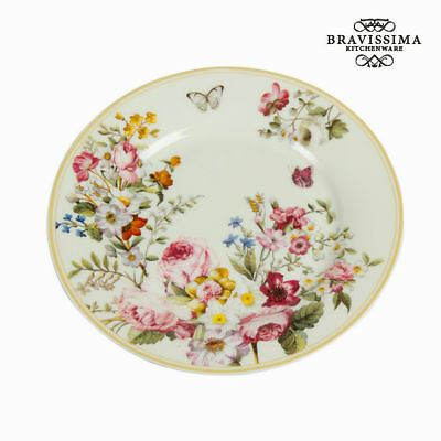 Plato Llano Porcelana (Ø 19 cm) - Colección Kitchen's Deco by Bravissima Kitchen