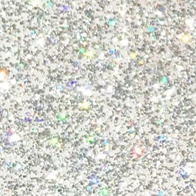 """Holographic Adhesive Vinyl Glitter 12"""" By 15 FT Roll - For Cricut, Silhouette"""