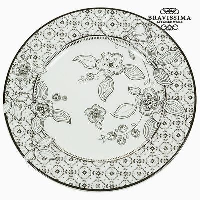 Plato Llano Porcelana - Colección Kitchen's Deco by Bravissima Kitchen