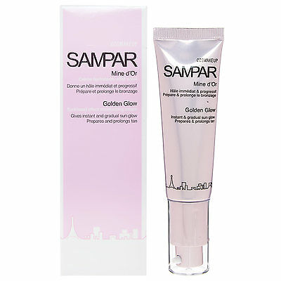 Sampar Golden Glow Moisturising Cream 30Ml Sunkissed Rrp £25 Prolongs Tan