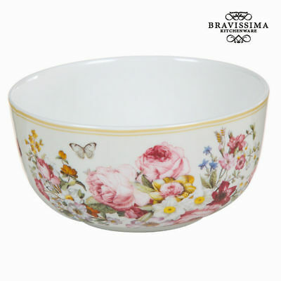 Bol porcelana bloom white - Colección Kitchen's Deco by Bravissima Kitchen