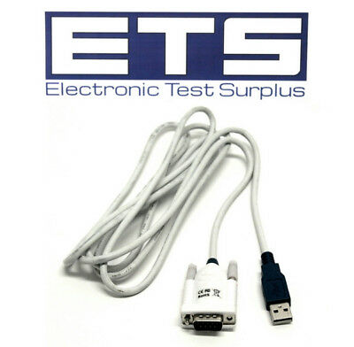 USB To DB9 Serial Cable 7' CE + ROHS Compliant