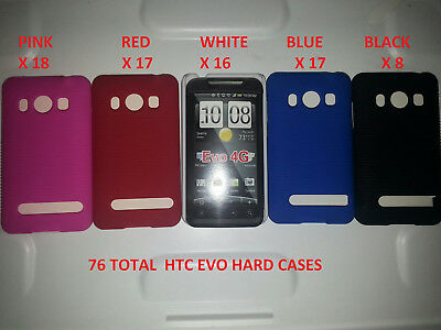 150 Piece Lot Htc Evo 4G Cell Phone Cases Covers Skins Gel Cases