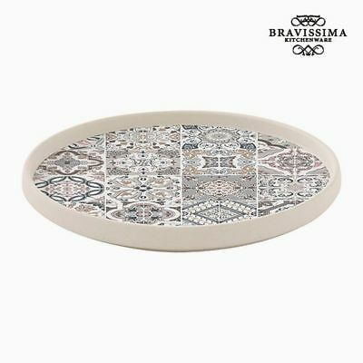 Plato Porcelana Gris by Bravissima Kitchen