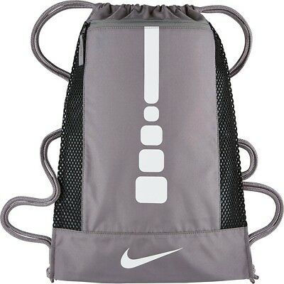 459844e67429 NIKE HOOPS ELITE GYMSACK Basketball Sport bag DRAWSTRING Bag black ...