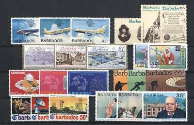 (952475a) Small lot, Miscellaneous, Barbados - odd values -