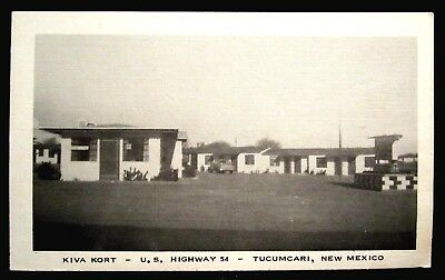 TUCUMCARI, NM N.M. Kiva Kort Motel, Hwy 54, New Mexico