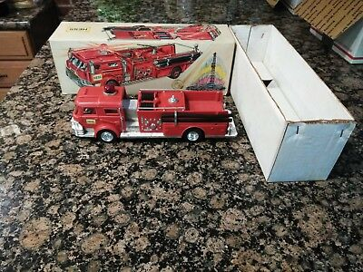 1970 Vintage Hess Fire Truck with box