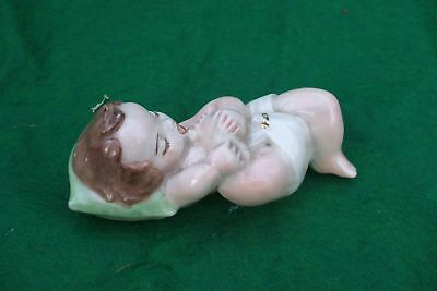 Small Baby Statue Very Well Done Vintage Antique