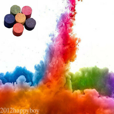 Colorful Smoke Cake Smoke Effect Show Round Stage Photography Aid Toy Gift