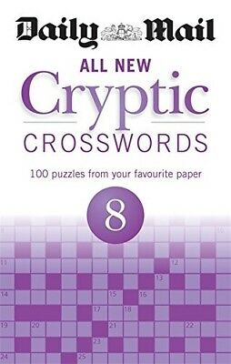 New, Daily Mail All New Cryptic Crosswords 8 (The Daily Mail Puzzle Books), Dail