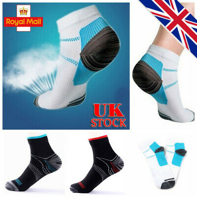 UK Unisex Plantar Fasciitis Compression Socks Heel Foot Arch Pain Relief Support
