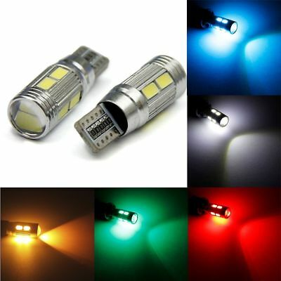 New Wedge Canbus Auto Lamp LED Car Lights 12V Bulbs T10 194 W5W 10 SMD 5730