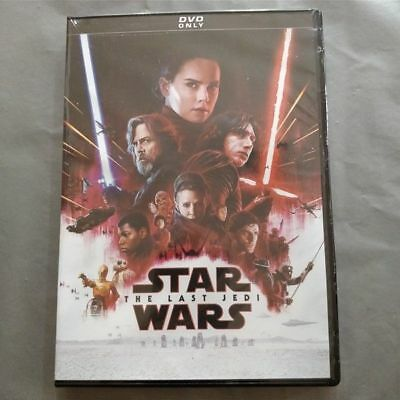 Free Shipping Star Wars Episode 8 Episode 8 - The Last Jedi (DVD, 2017)