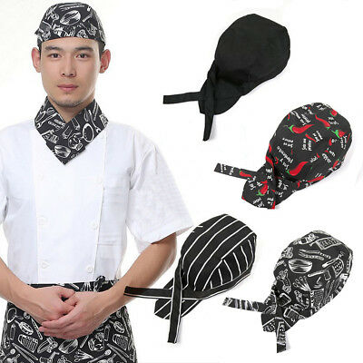 Pro Pirates Cap Professional Cook Catering Baker Waiter Various Kitchen Chef Hat