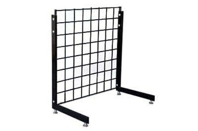 L-Shape Gridwall Panel Legs Display Set of 2 Black - Work With Standard Panels