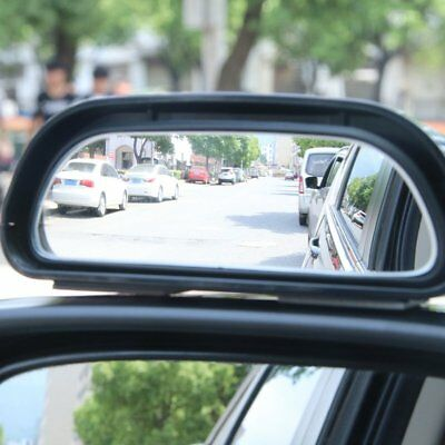 Mini Small Rearview Car Mirror Assitant Wide Angle Blind Spot Side Mirror NI