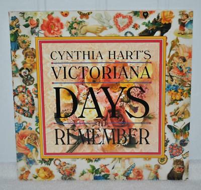 Cynthia Hart's - VICTORIANA DAYS TO REMEMBER blank diary - Brand New