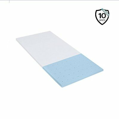 Memory Foam Mattress Topper 2.5 Inch  For bed Cooling Technology Certipur