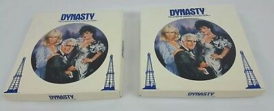 (2)1985 Dynasty Television Series Collection Decorative Plates Royal Orleans