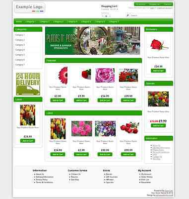 eCommerce Website Shopping Cart Site with FREE Domain and FREE Hosting