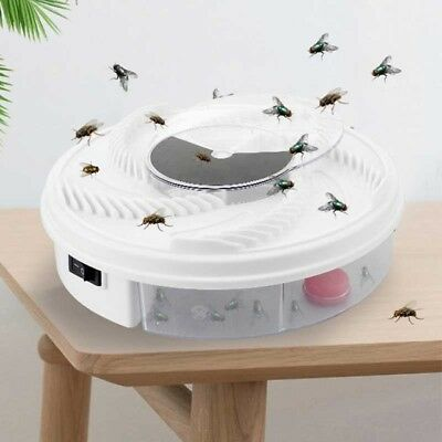 Electronic House Fly trap - Device Traps Houselfies Without Killing Them NEW HOT