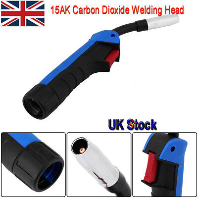 15AK Carbon Dioxide Welding MIG/MAG Cutting Torch Gun Part Head Replacement Head