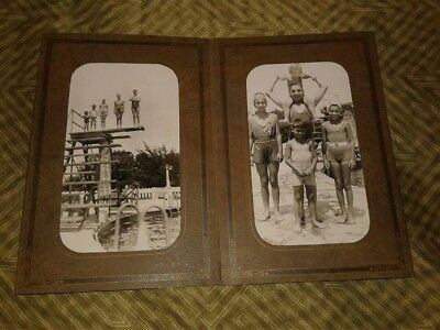1933 Pana Illinois Photos Bintz Swimming Pool Kitchell Park Mulatto children Sve