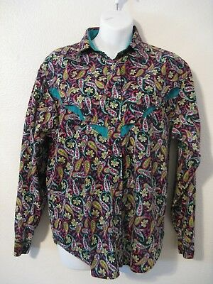 Vintage Woman's Western Shirt - Size M - MINE & Bill's OUTFITTERS