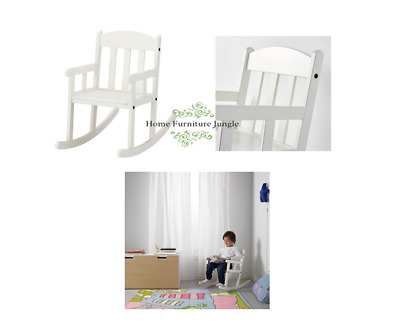 New Ikea Sundvik Kids Rocking Chair White High Quality Cheap Free Delivery