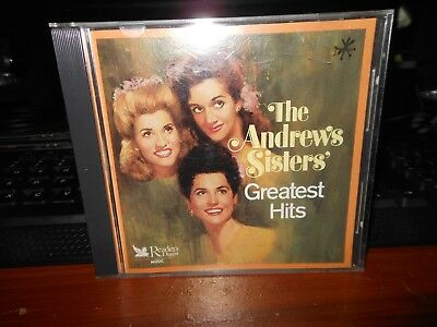 The Andrews Sisters Greatest Hits  Reader's Digest   CD