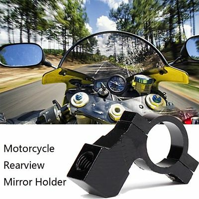 Modified DIY Bicycle Hand Bar Screw Rear View Holder Mirror Clip Motorcycle