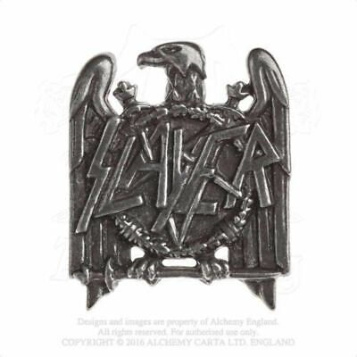 Slayer - Pewter Pin Badge - Eagle (40mm x 33mm)