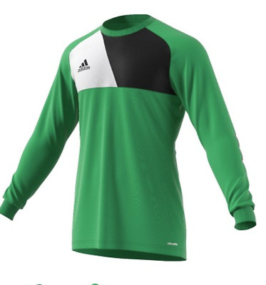 8b3e7ce821b Adidas ASSITA 17 GK Goalkeeper Jersey Shirt Goalie Soccer Football Mens M  Green