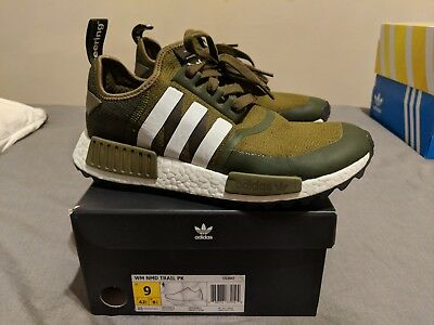 ADIDAS X WHITE Mountaineering NMD Trail PK Trace Olive CG3647 Size 9  Sneakers -  160.00  c57be337ceee