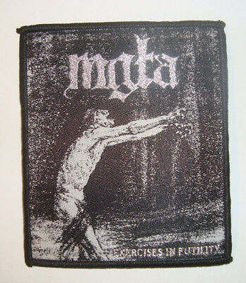 MGLA - Exercises in Futility WOVEN PATCH Batushka Deathspell Omega Peste Noire