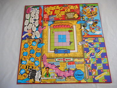 The Simpsons Board Game Springfield USA: replacement game board