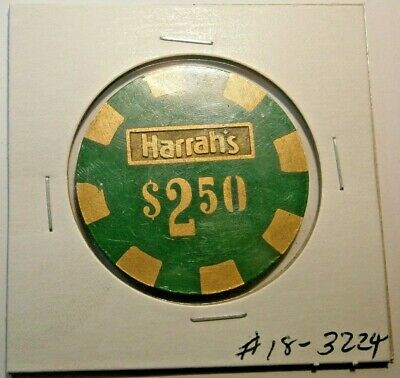 Vintage Harrah's $2.50 Casino Chip Lake Tahoe Nevada