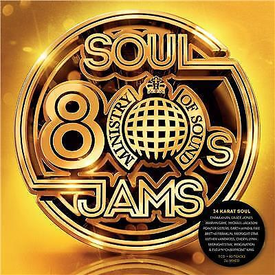 MINISTRY OF SOUND 80s SOUL JAMS VARIOUS ARTISTS 3 CD DIGIPAK NEW