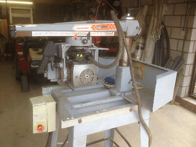 Maggi Professional Engineering Radial Arm Saw 2003 240 Volt Spares or Repair