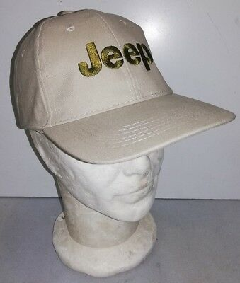 Casquette JEEP beige WILLYS MB FORD GPW HOTCHKISS M201 MILITARIA WW 4X4 USA  cap