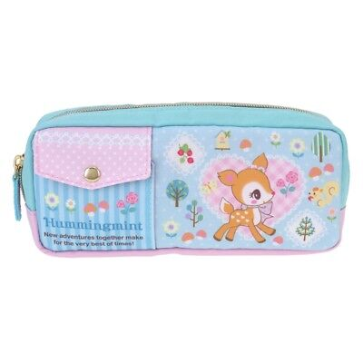 Sanrio Hummingmint 20.7W x 10.5H x 4.5Dcm Polyester Pencil Pouch Bag (9-7136-4)