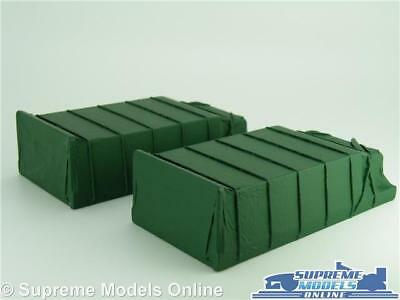 2 X Sheeted Truck Lorry Loads 1:50 Scale Suitable For Corgi Classic & Modern K8