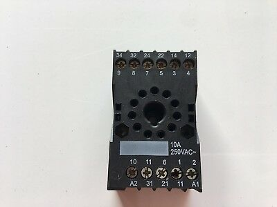 IMO SRR11 Relay Socket  11 Pin 10 Amp
