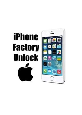 Vodafone Factory Unlock Service For Apple Iphone 4, 4S, 5, 5S, 5C, 6, 6+, 7, 7+