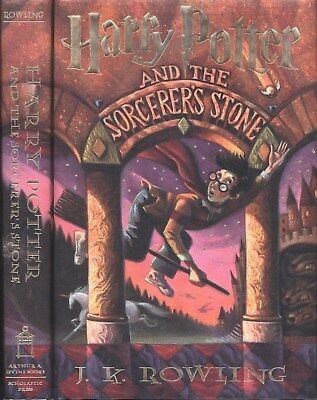 Harry Potter and the Sorcerer's Stone (Philosopher's Stone) JK Rowling 1st/6th