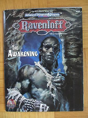 RAVENLOFT The Awakening Advanced Dungeons & Dragons AD&D #9452 TSR Fantasy Rol